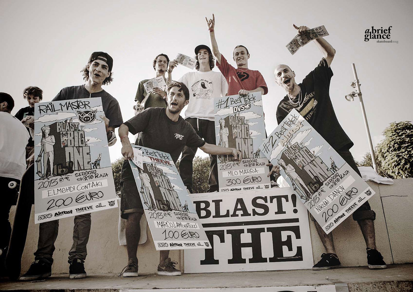 Blast! the Big One 2013 Edition secondo a brief glance