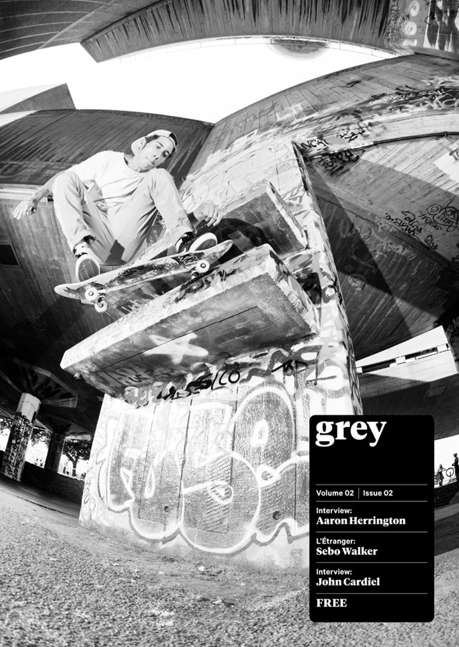 Grey Skateboard Magazine_vol.02 issue 02_online now.