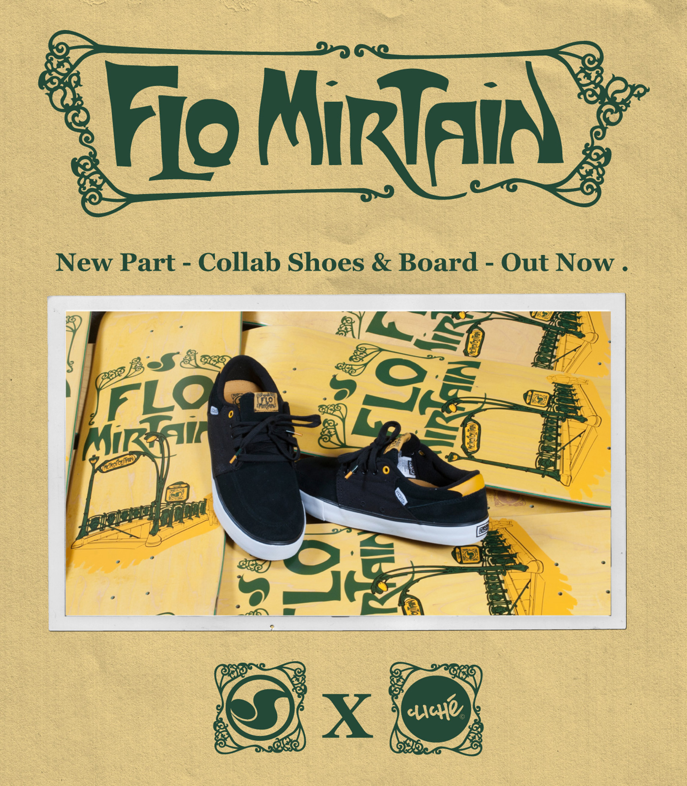 DVS x Cliché_Flo Mirtain_new video part.