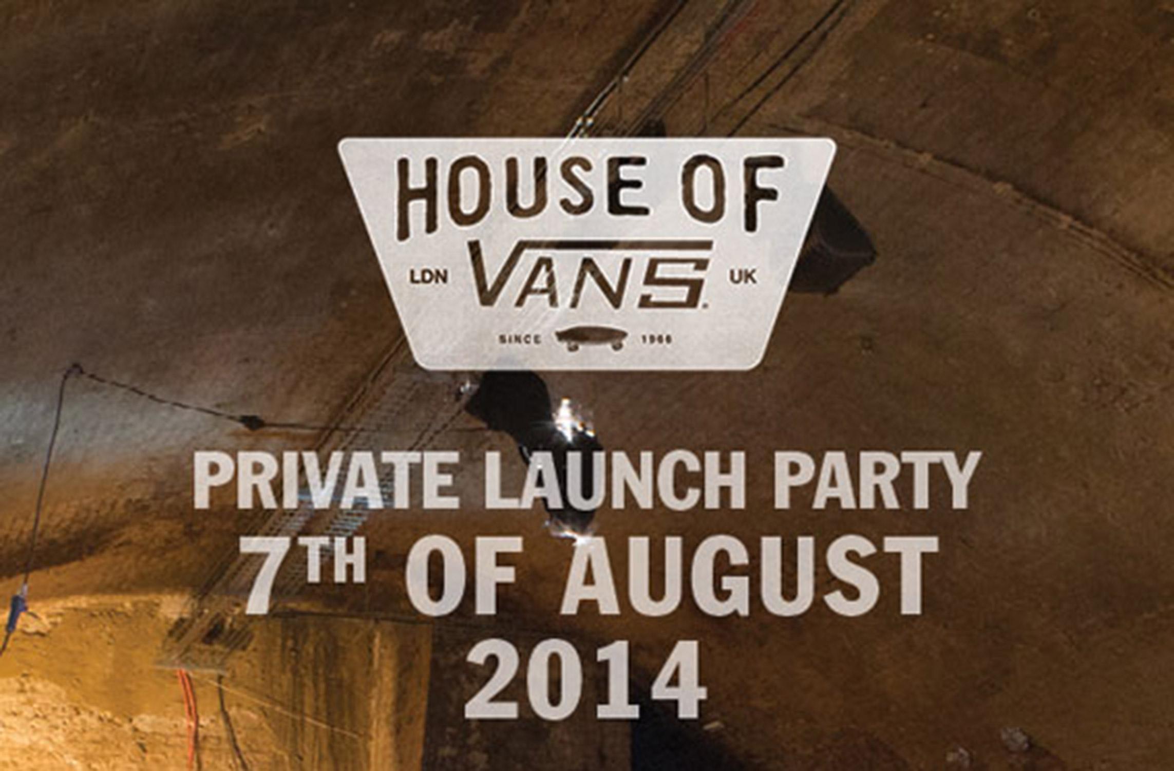 House Of Vans London_Opening.