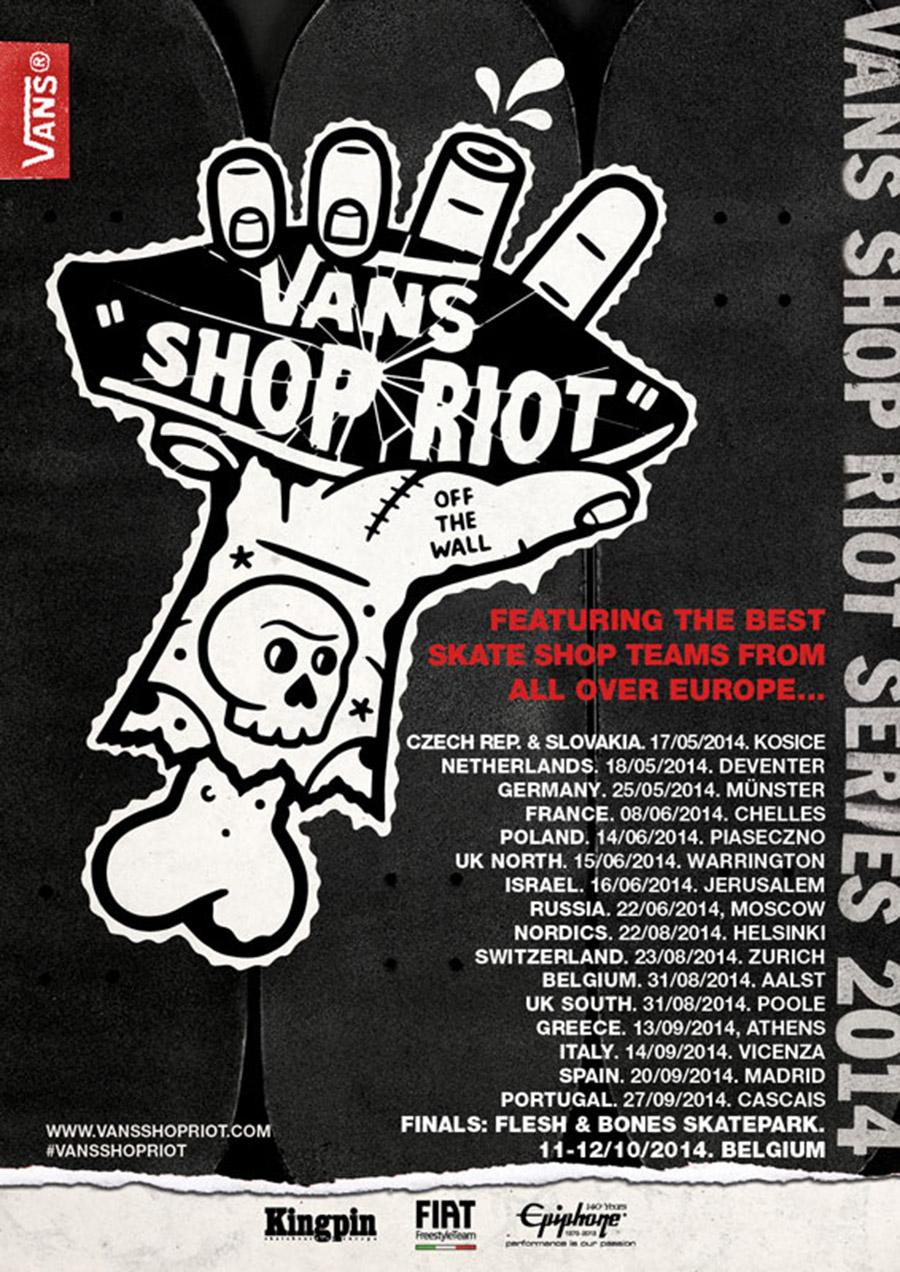 Vans Shop Riot 2014.