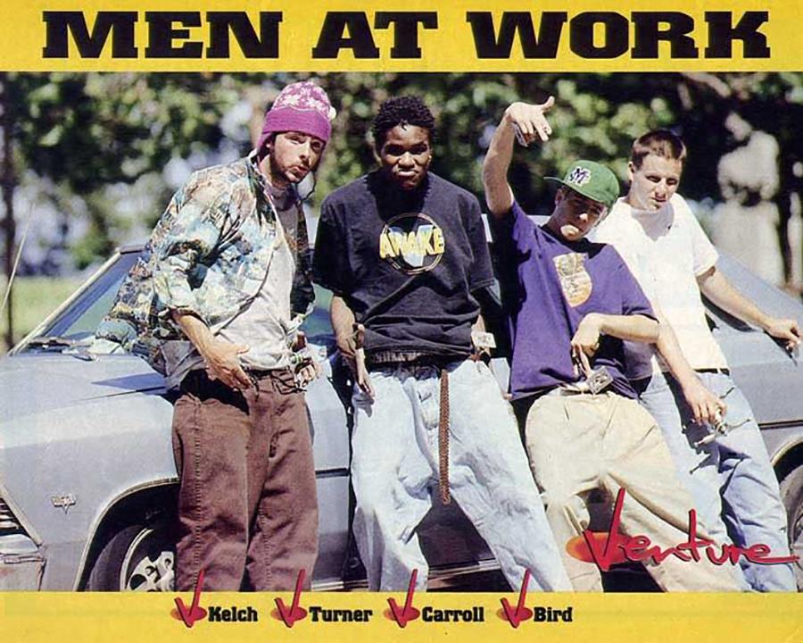 Not The New Venture Video (1991) & Greg Carroll interview.