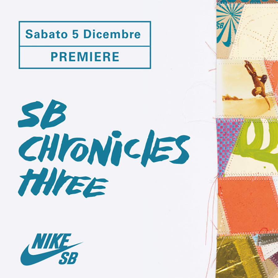 Nike SB_Chronicles vol. 03_Milano Première.