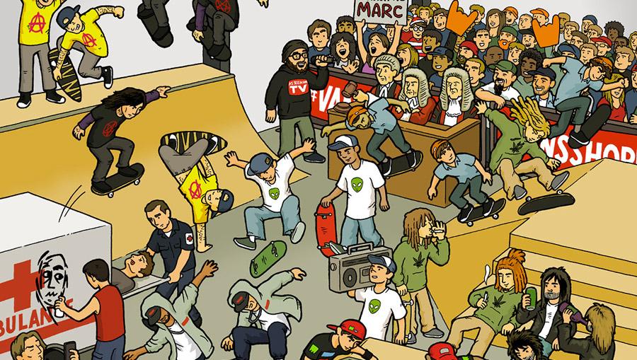 7cb998940f Vans Shop Riot Finals 2016. « a brief glance skateboard mag