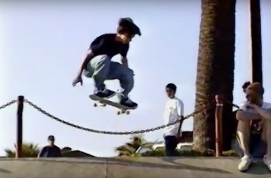 "Monday Classics_Geoff Rowley and Tom Penny in TWS ""Uno""."