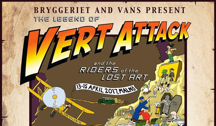 Vans Europe Presents Vert Attack.