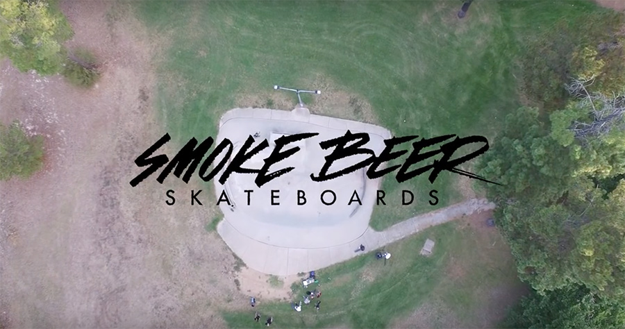 Smoke Beer Skateboards_Belco Bowl Jam Trip.