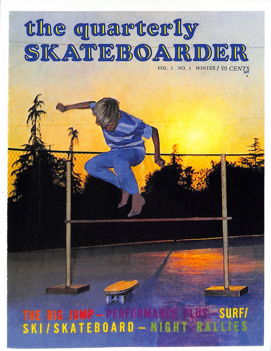 Skateboarder Magazines Archives 1964-1979.