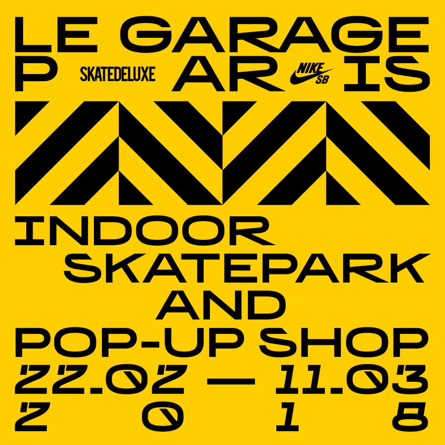 nike sb skatedeluxe le garage paris a brief glance skateboard mag. Black Bedroom Furniture Sets. Home Design Ideas