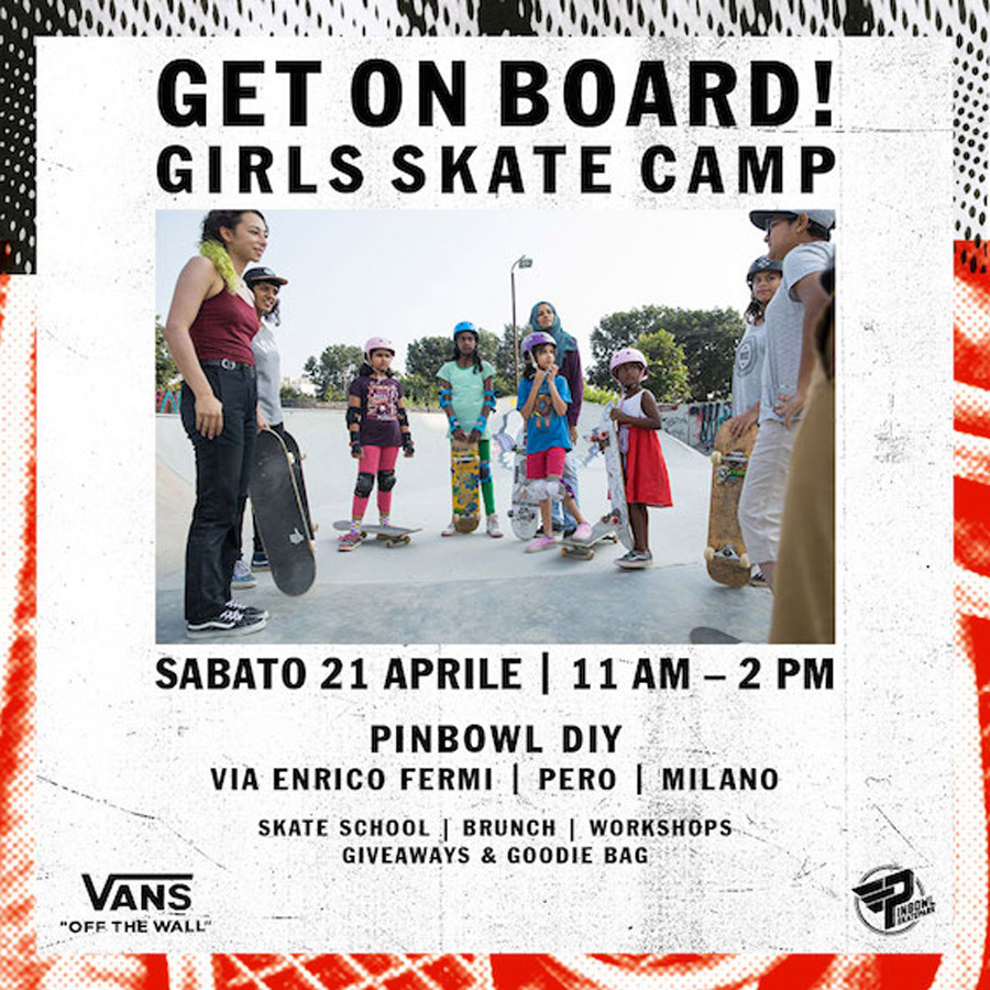 GET ON BOARD! Vans Girls Skate Camp.