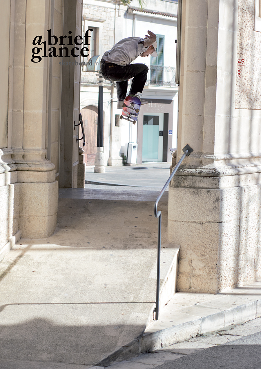 Welcome to a brief glance skateboardmag issue_49