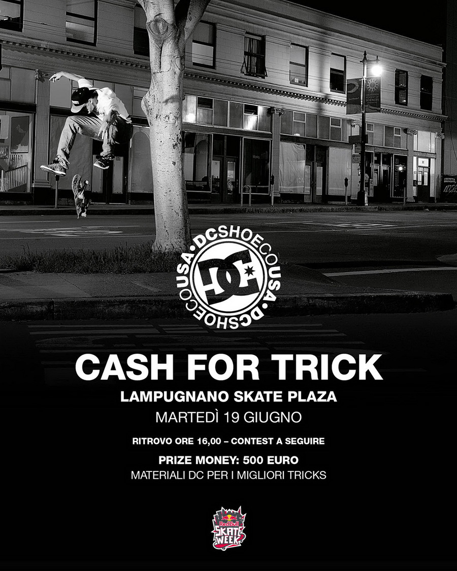DC SHOES: Cash For Trick Milano.