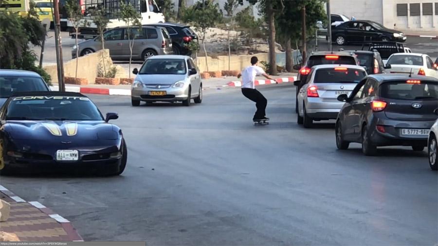 Dharbet Shams_Skateboarding In Palestine.