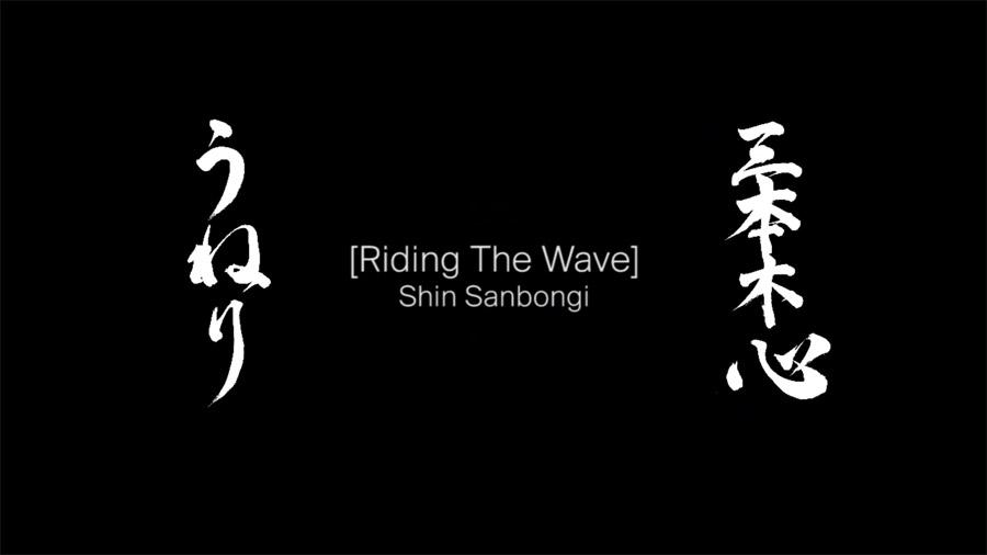 Shin Sanbongi_Riding the Wave.