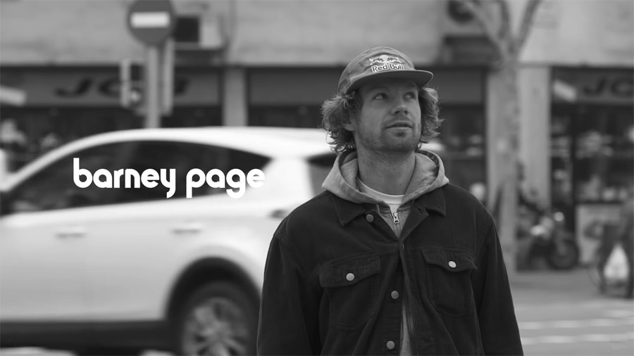 """Barney Page's """"Inside Outtakes""""_etnies Album."""
