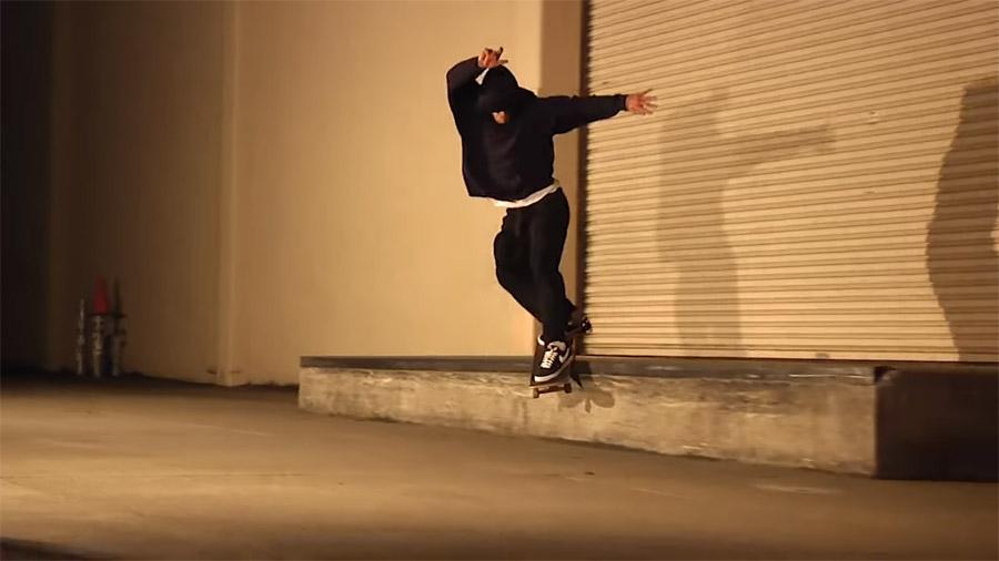 Skate clip by John Wilson.