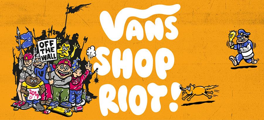 Vans Shop Riot 2019_Italy.