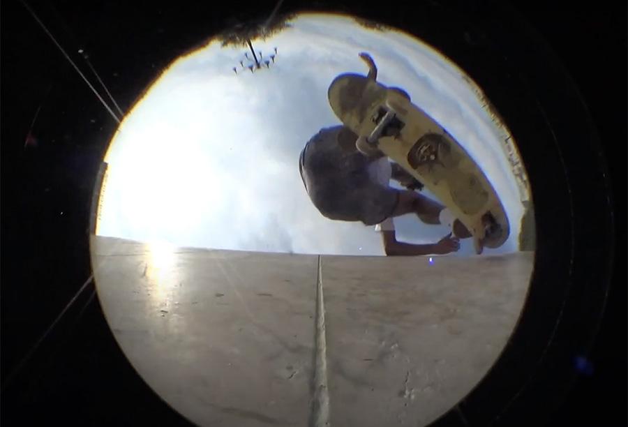 """Magenta Skateboards _ Ruben Spelta """"Solista""""."""